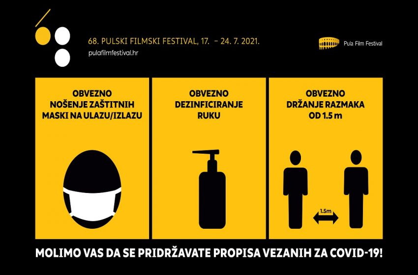 Programi Pulskog filmskog festivala – bez COVID potvrde